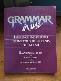Grammar in Use:Reference and Practice for Intermediate Students of English