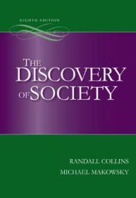 [全新进口原版现货]发现社会: 西方社会学思想述评(第8版)The Discovery of Society 8th edition9780073404196