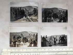 民国抗战时期长城抗战日本鬼子4张原版老照片