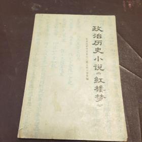 政治历史小说红楼梦