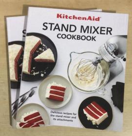 kitchenaid STAND MIXER COOKBOOK凯膳怡厨师机搅拌器 英文菜谱
