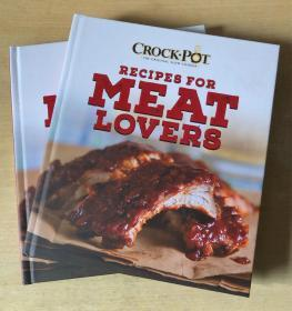 RECIPES FOR MEAT LOVERS肉类食谱 西餐烹饪制作技巧英文美食菜谱【精装本 192页】