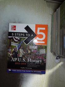 5 Steps to a 5 AP US History, 2012-2013 Edition 5个步骤,创造5个亚太地区美国历史,2012-2013年版
