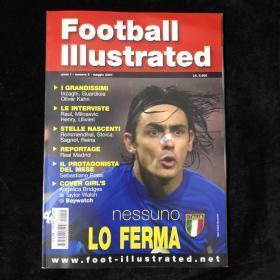 意大利足球杂志football Illustrated 意大利因扎吉ac米兰尤文图斯 第2期