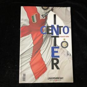 国际米兰100年百年1908/2008 纪念画册萨内蒂菲戈伊布拉希莫维奇意大利足球意甲