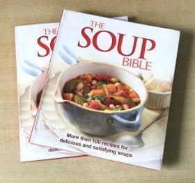 The Soup Bible 煲汤食谱 西餐美味烹饪食谱菜谱 美食 英文版 【192页】  各种煲汤技巧及做法