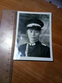 民国警察照片。10x7厘米。一号箱!