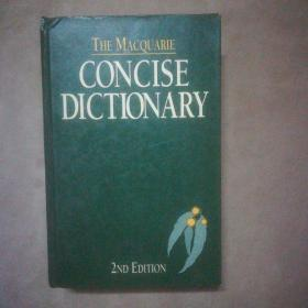 THE MACQUARIE CONCISE DICTIONARY