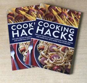 英文版 COOKING HACKS 西餐美食食谱烹饪技巧及做法菜谱书籍