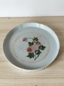 老瓷器茶盘。