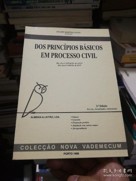 DOS PRINCÍPIOS BÁSICOS EM PROCESSO CIVIL