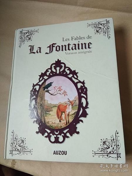 Les Fables  de  La  fontaine(整本书装订倒了)