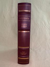 Franklin library限量真皮本:尤利西斯  Ulysses