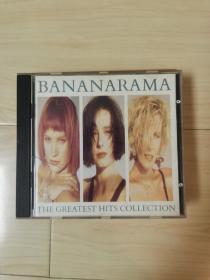 二手原版CD唱片 bananarama 香蕉女郎精选集 八十年代经典迪斯科舞曲 名曲名演唱