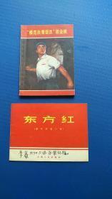两本文革小册子,都是好品相,内页干净无勾画完整。