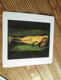 美术卡片:泉(卡纸28厘米*28厘米*0.5毫米)印制精美