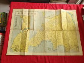 青岛市街地图 昭和17年
