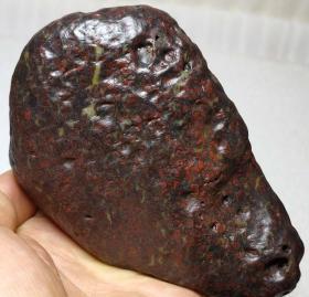 3990  新疆哈密 红花伊丁 陨石 陨铁 714克