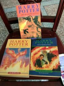 哈利波特(英文版)三册合售