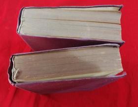 特价1950年16开精装本第三野战军希氏内科学2册巨厚册四卷全