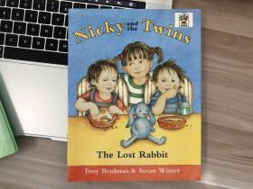 英文原版古董绘本童书 Nicky and the Twins The Lost Rabbit