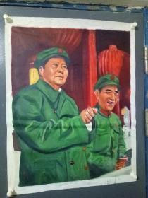 列宁一斯大宁等油画