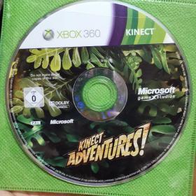 游戏安装光盘295【KINECT ADVENTURES】XBOX360一张DVD