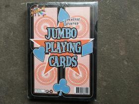 JUMBO PLAYING CARDS(32开大小扑克牌,未开封)