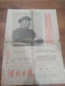红色收藏《湖北日报》新生号