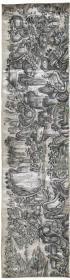 古地图1718-1751 武夷山九曲溪全图 清康熙57年至乾隆16年。纸本大小48.84*195厘米。宣纸原色仿真。
