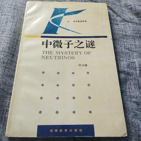 著名原子能研究专家孙汉城签名本《中微子之谜》