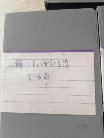 """中央电视台录像带 解小东《相信》专辑宣传带,  刘媛媛 """"五星红旗"""" 2盒合售"""