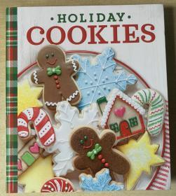 HOLIDAY COOKIES 节日饼干食谱 西餐烹饪制作技巧英文美食菜谱 【平装本192页】