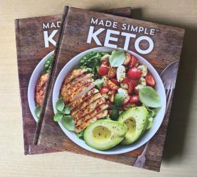 英文版MADE SIMPLE KETO做简单的酮制作配方烹饪技巧做法美食菜谱 [精装本 192页】