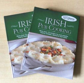 英文版 IRISH PUB COOKING 甜点蛋糕 爱尔兰酒吧烹饪技巧美食菜谱 【精装138页】