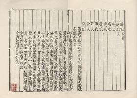 宋刻本:《 礼记集说》,全24册,卫湜著,本店销售的为该版本仿古高档道林纸彩色复制本