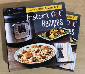 instant pot RECIPES 即时锅食谱英文美食菜谱烹饪制作技巧及方法【精装本 256页】