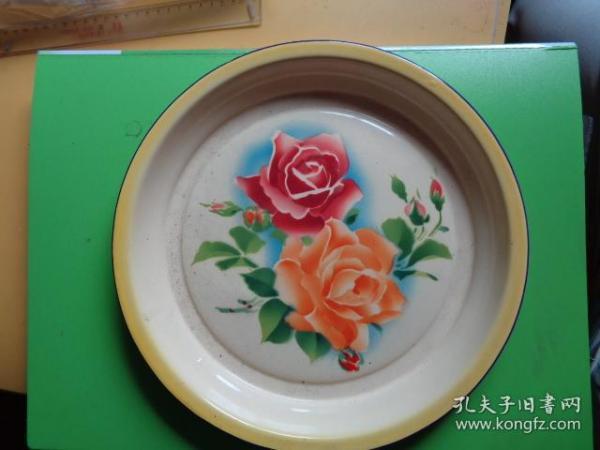 上海久新厂搪瓷盘(1964年8月)
