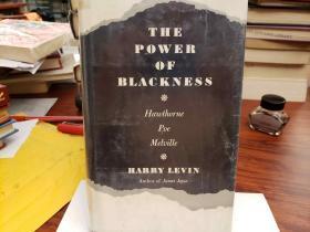 The Power of Blackness: Hawthorne, Poe, Melville