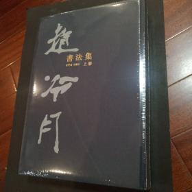 赵冷月书法集   上下  布面精装   印数1000册  全新