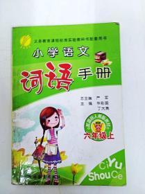 DR133086 小学语文词语手册--六年级上(书内有读者签名)