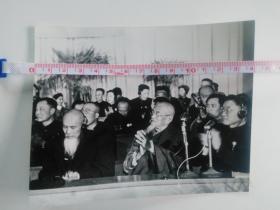 庆祝内蒙古自治区成立十周年 庆祝大会主席台上