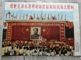 欢呼毛泽东思想的新发展和新的伟大胜利(人民画报1969年9月拼页)