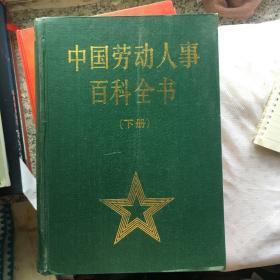 中国劳动人事百科全书下