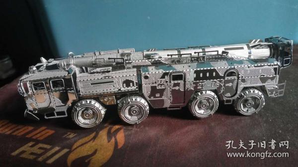东风11导弹车金属拼装模型成品