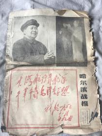 哈尔滨站报1967年12月1日