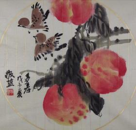 傅敬盐   尺寸  38/38   软件 1941年生,满族富察氏,著名女画家。现为中国书画艺术研究院副院长,中国花鸟画研修院教授,《艺术名流》艺术指导,《书画经纪》艺术顾问。擅长写意花鸟,作品具有清雅隽秀、形神兼备的艺术风格。