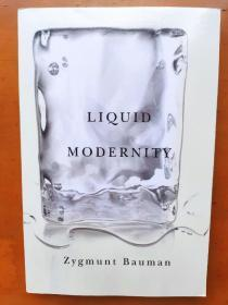 Liquid Modernity 液态现代性 齐格蒙 鲍曼/包曼 2012新版本