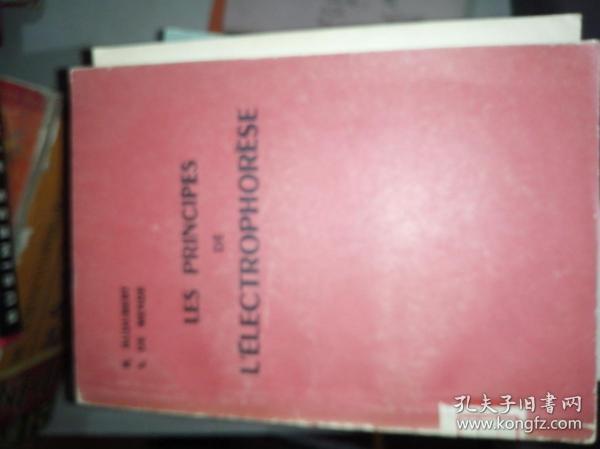LES PRINCIPES DE L'ELECTROPHORESE