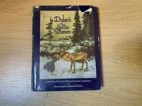 The Snow Queen and other stories   安徒生 白雪公主及其他童话,著名的杜拉克 Edmund Dulac 插图,精装
